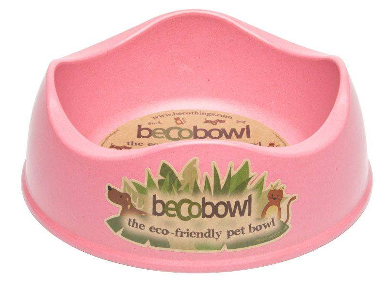 Produktbild: BecoBowl rosa - miljövänlig matskål
