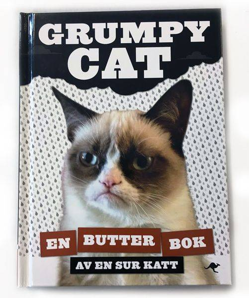Produktbild: Bok Grumpy Cat
