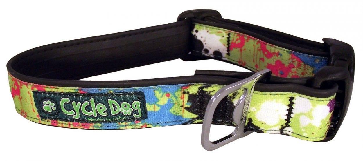 Produktbild: Cycle Dog Green Paint Splatter QR
