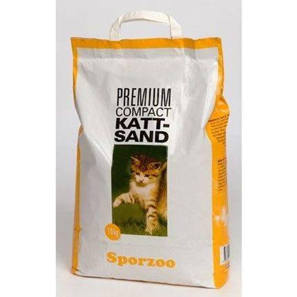 Produktbild: KattSand Sporzoo premium comp.10kg Gul