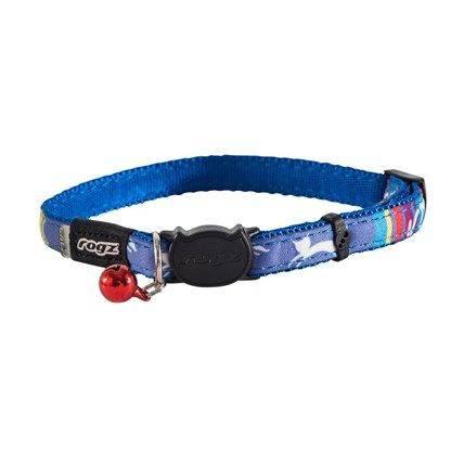 Produktbild: Katthalsband Rogz NeoCat Blå