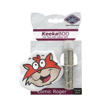 Produktbild: Kattleksak KeekaBOO Comic Roger