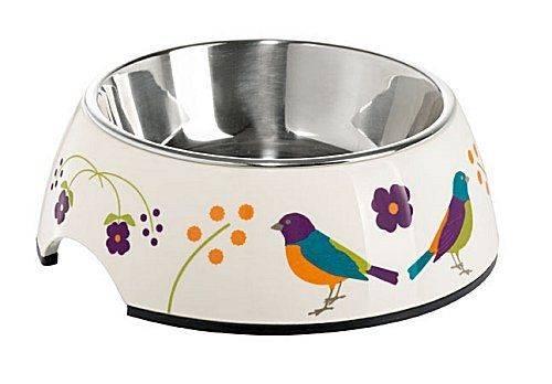 Produktbild: Kattmatskål 2 i 1 Birds