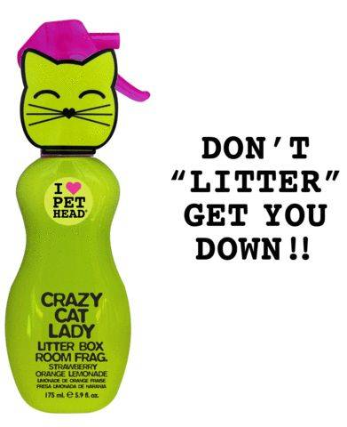 Produktbild: Kattschampo Crazy Cat Lady litter box fragrance