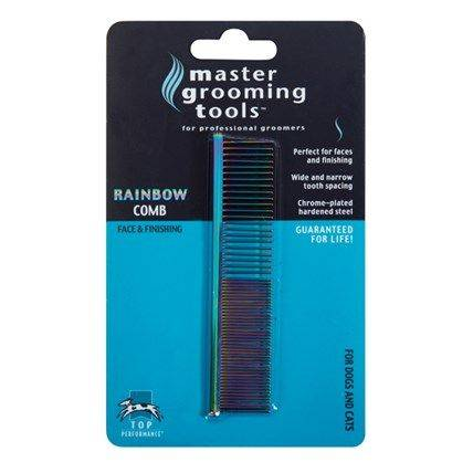Produktbild: Master Grooming Tools Rainbow kam ansikte