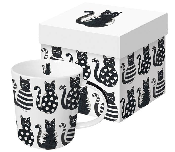 Produktbild: Mugg med kattmotiv AnnEko
