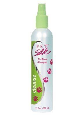 Produktbild: Pet Silk No Rinse torrschampo