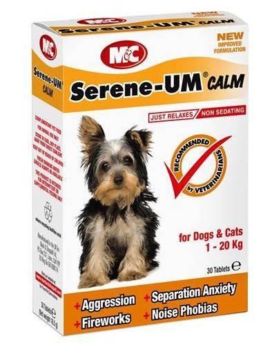 Produktbild: Serene UM tabletter till katt och hund