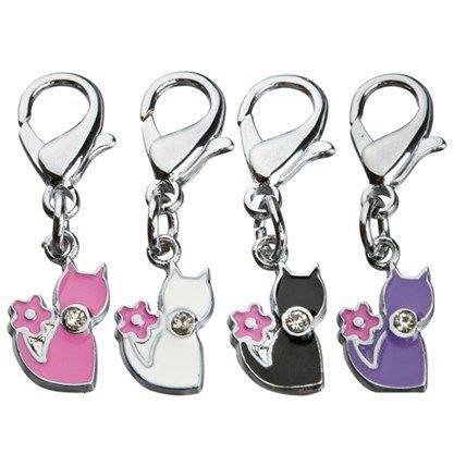 Produktbild: Smyckeshänge katt strass