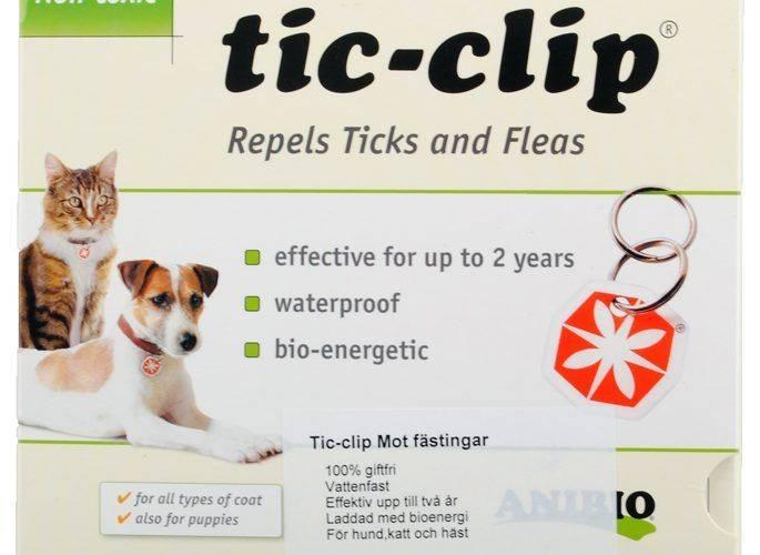 Produktbild: Tic-Clip Fästingskydd för katt