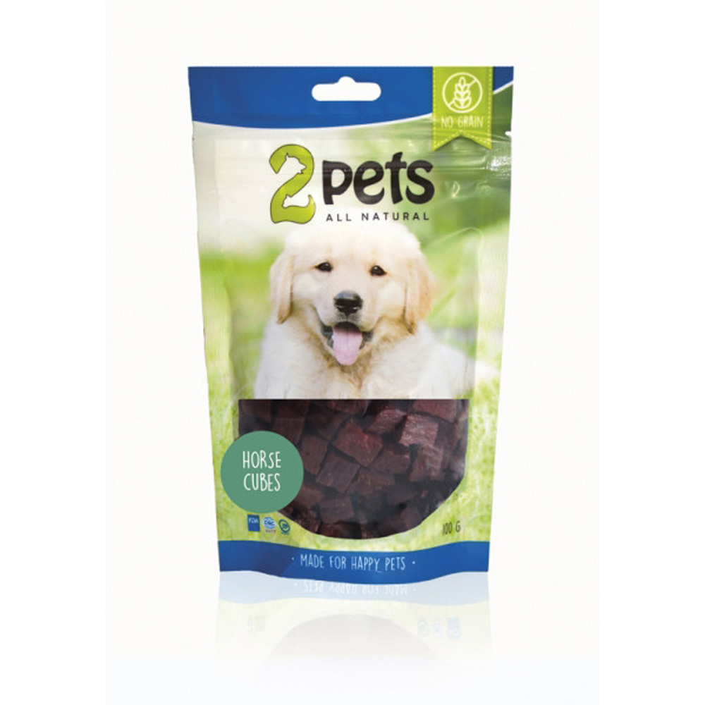 2Pets Dogsnack Horse Cubes 100 G