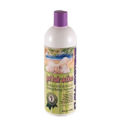 All System Got Hair Action Brazilian Style Blow-Out Smoothing Serum 473Ml