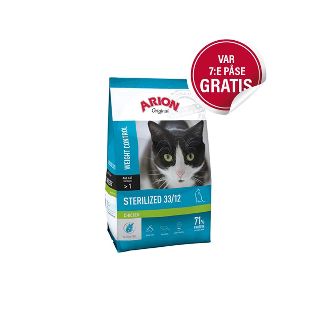 Arion Original Cat Sterilized Chicken 2 Kg