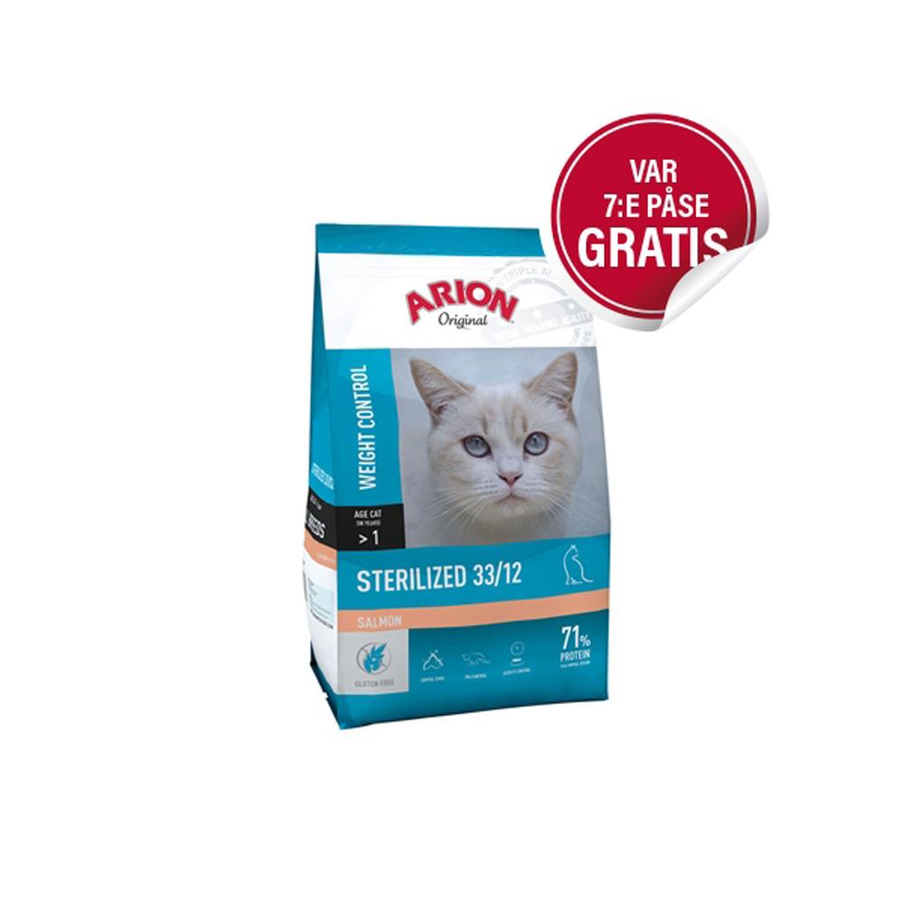 Arion Original Cat Sterilized Salmon 7