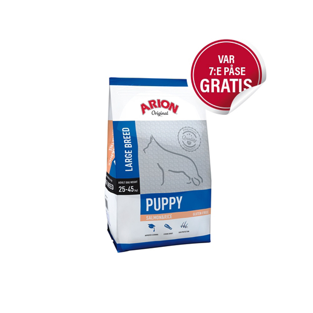 Arion Puppy Large Salmon & Rice 3 Kg