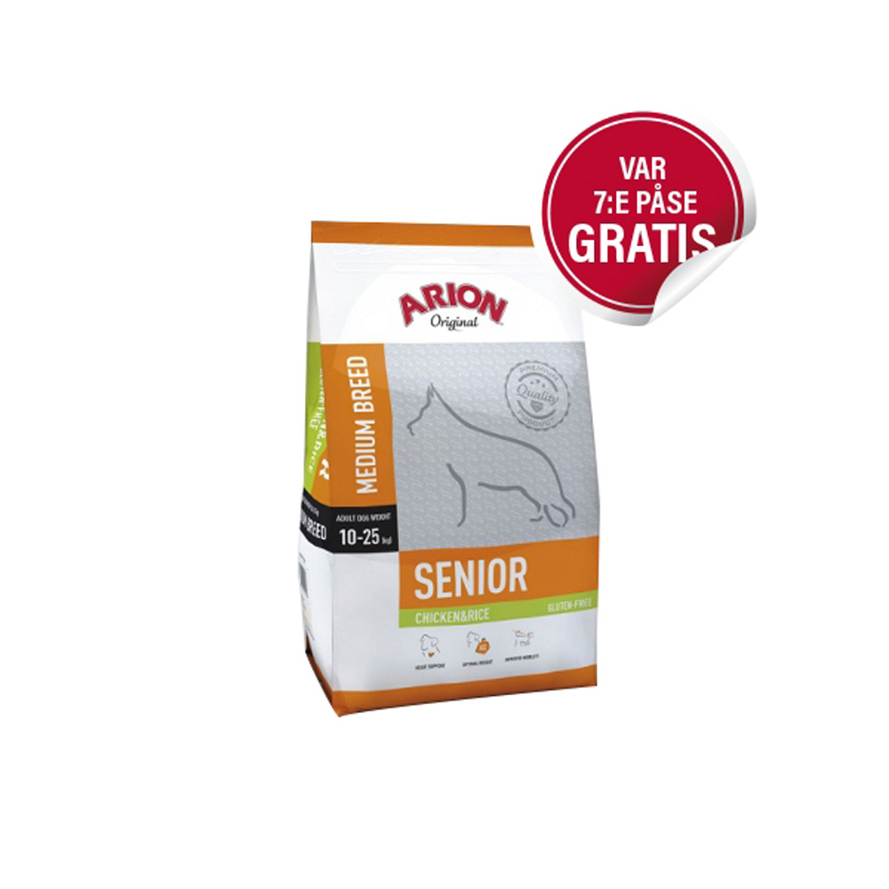 Arion Senior Medium Chicken & Rice