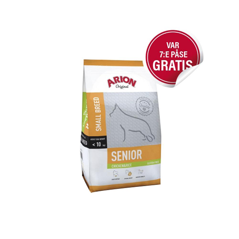 Arion Senior Small Chicken & Rice 7