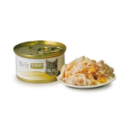 Brit Care Chicken Breast & Cheese Burk