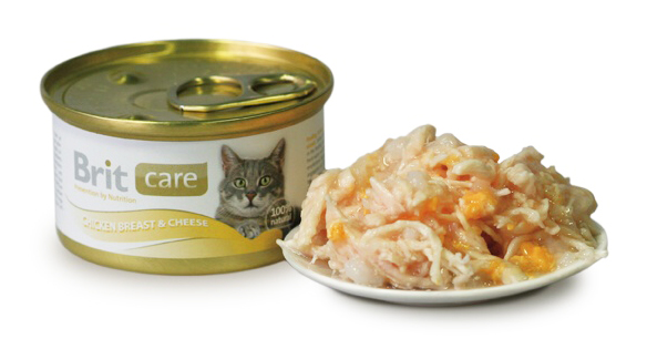 Brit Care Chickenbreast & Cheese 80 G