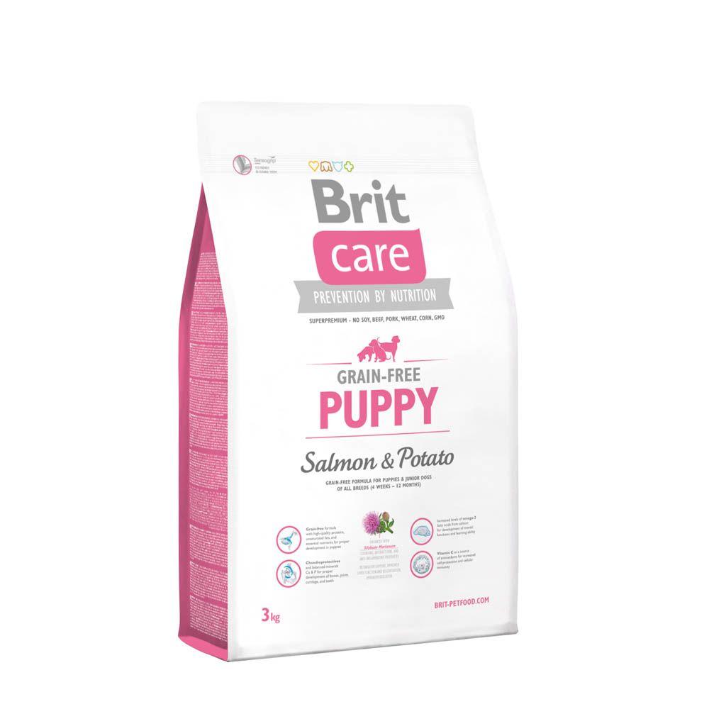 Brit Care Grain-Free Puppy Salmon & Potato 3 Kg