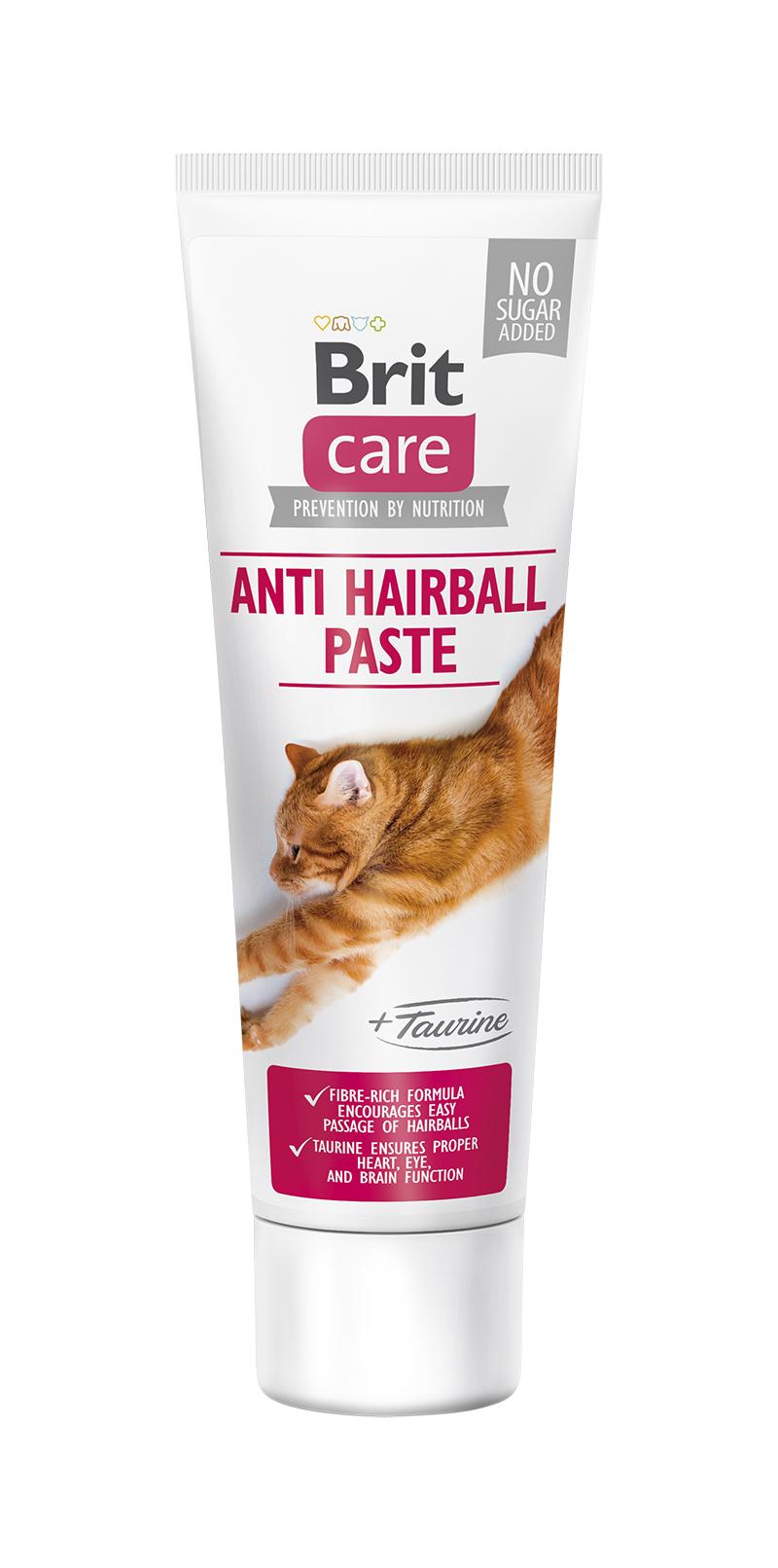 Brit Cat Paste Antihairball Med Taurin