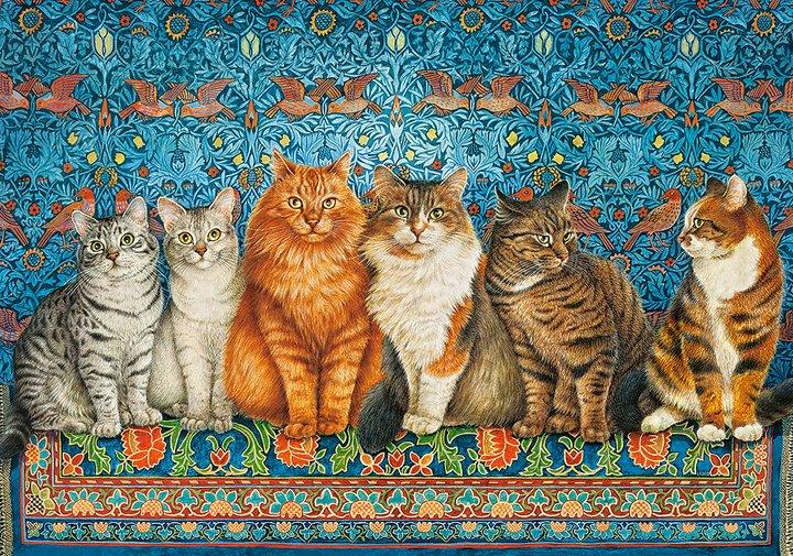 Cat Aristocracy Pussel 500 Bitar