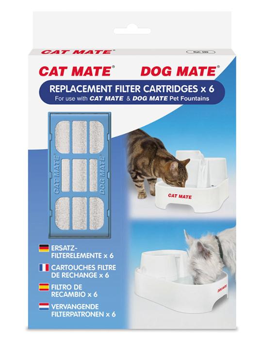 Cat Mate Filter 6-Pack