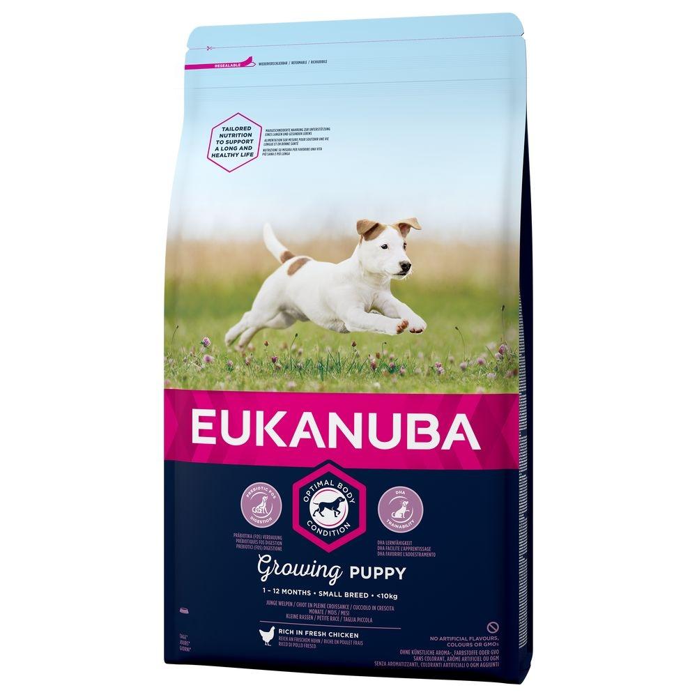 Eukanuba Growing Puppy Small Breed 18 Kg