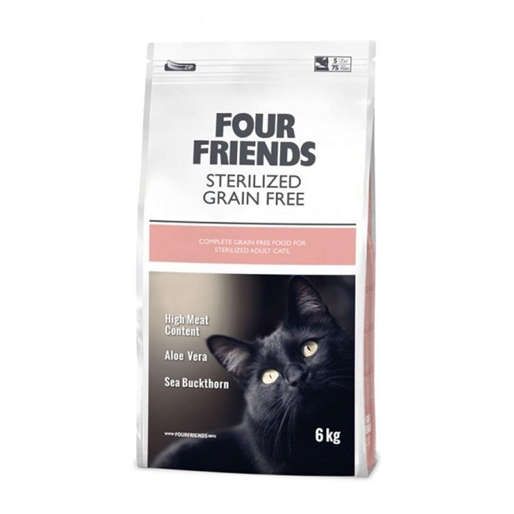 Fourfriends Cat Sterilized Gf 6Kg 2 Kg