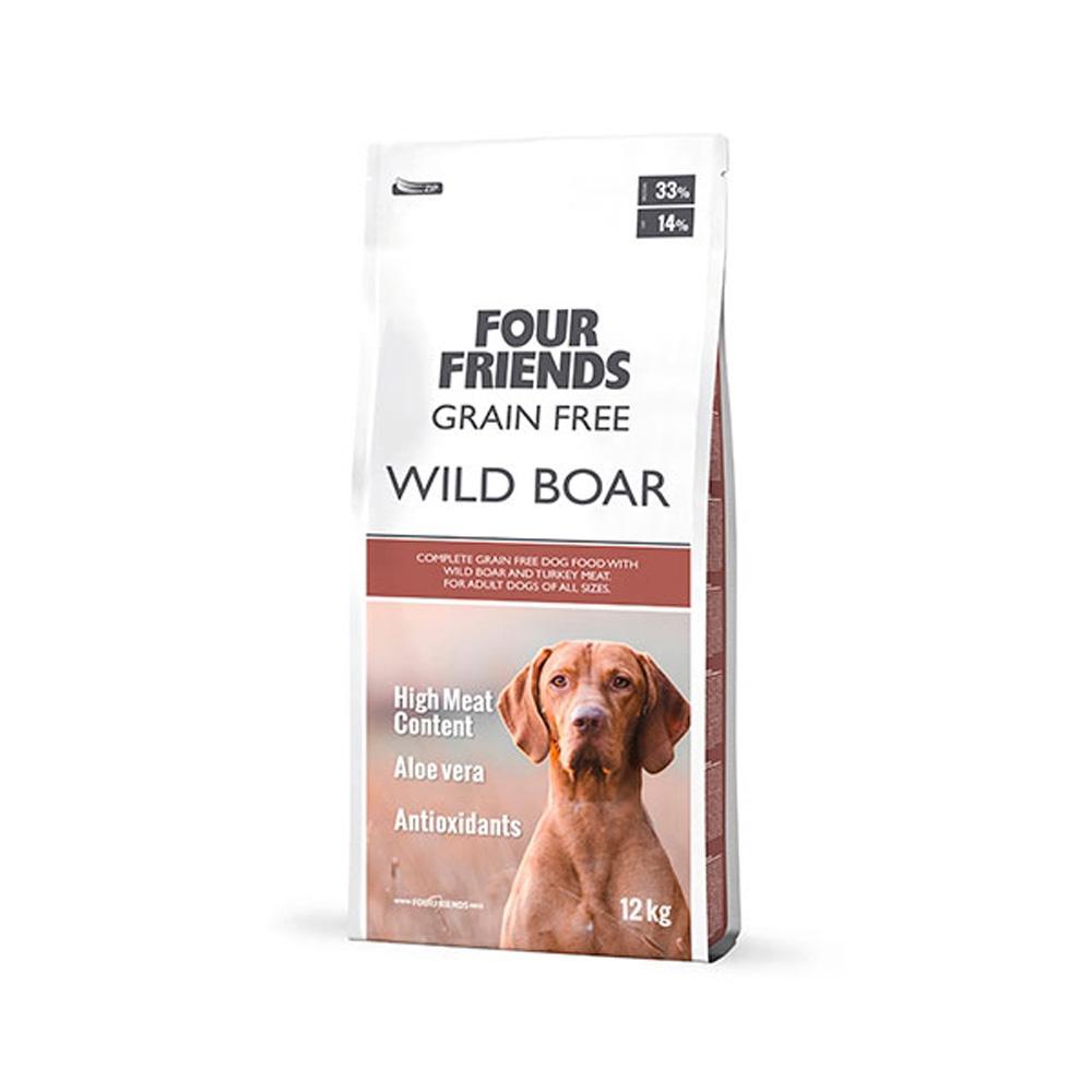 Fourfriends Grain Free Wild Boar 12 Kg