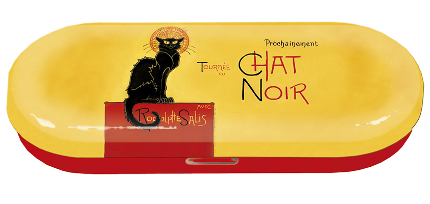 Glasögonfodral Chat Noir