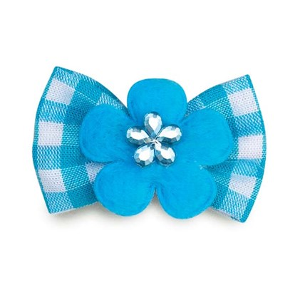 Hundrosett Blomma Blå