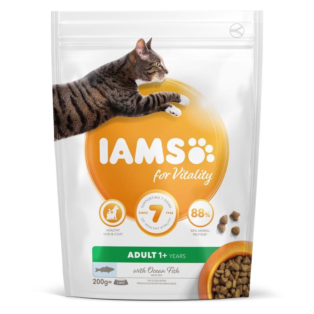 Iams For Vitality Cat Adult Ocean Fish 10 Kg