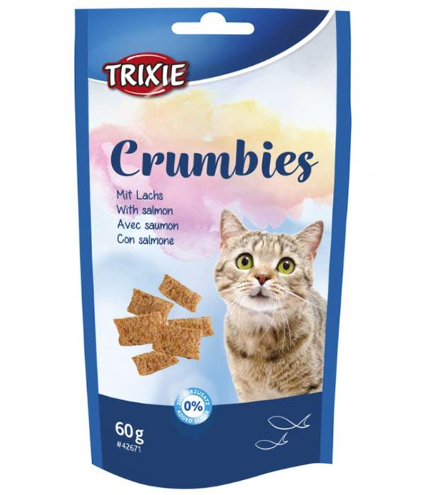 Kattgodis Crumbies Med Lax & Taurin