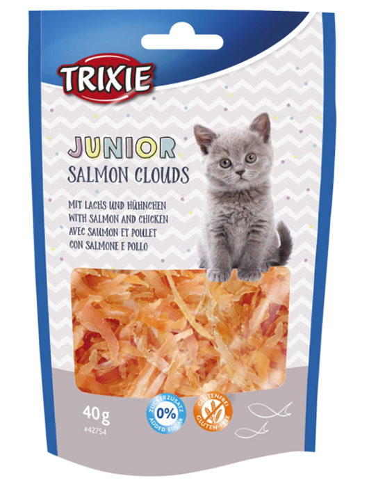Kattgodis Junior Salmon Clouds