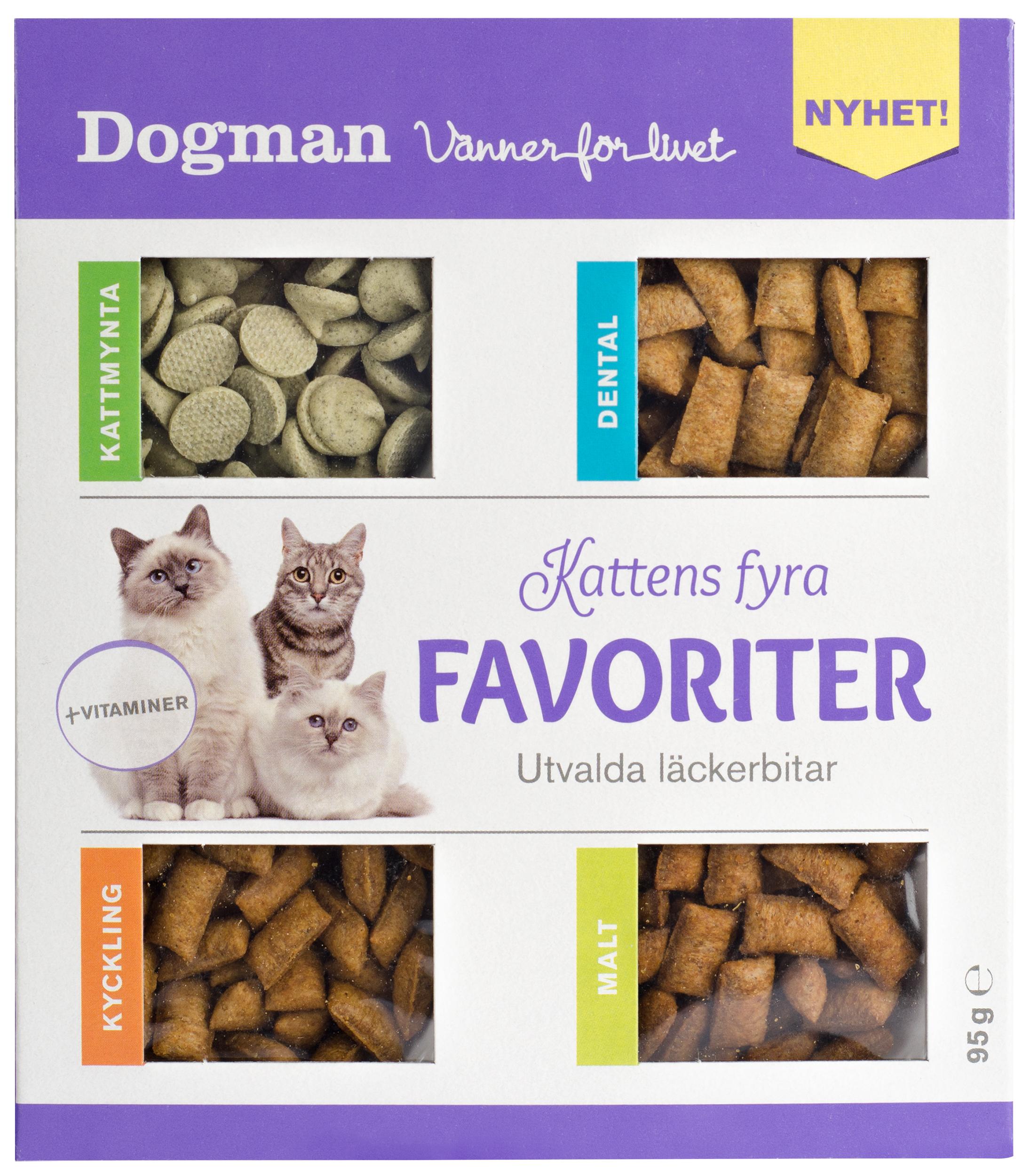 Kattgodis Kattens Fyra Favoriter