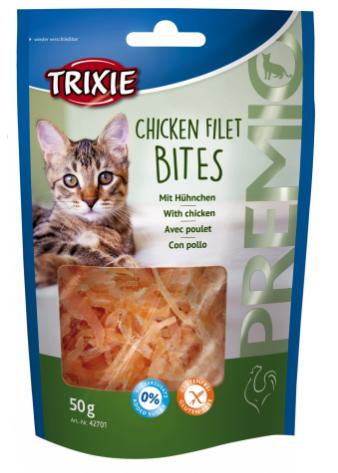 Kattgodis Premio Chicken Filet Bites
