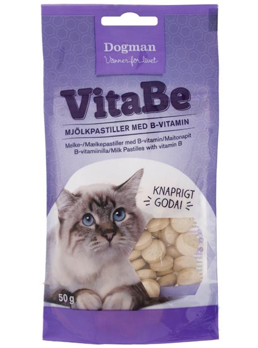 Kattgodis Vitabe Mjölkpastiller Med B-Vitamin