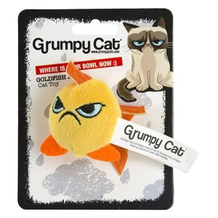 Kattleksak Grumpy Cat Guldfisk Boll 5Cm