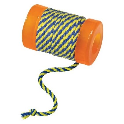 Kattleksak Petstages Spool With String