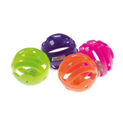 Kattleksak Plastboll Med Bjällra