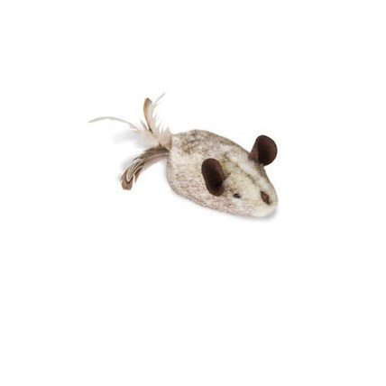 Kattleksak Play-N-Squeak Shake Y-R Tail Feather
