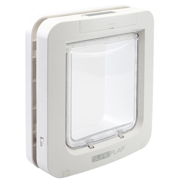 Kattlucka Sureflap Microchip XL Vit