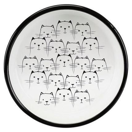 Kattskål För Kortnosiga Hello Cat