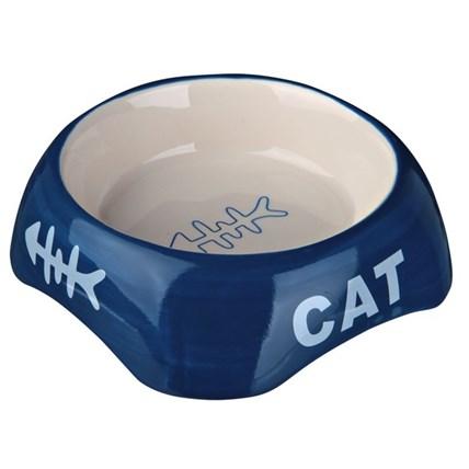 Keramikskål Cat Blå 24498