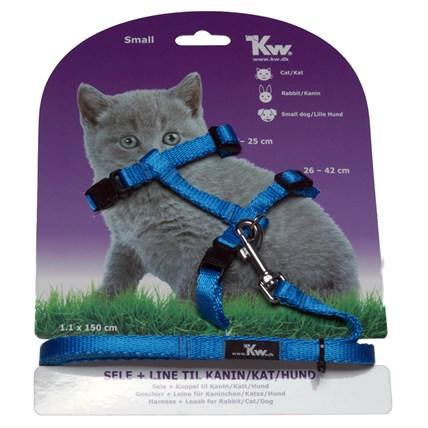 Kw Kattsele Blå S
