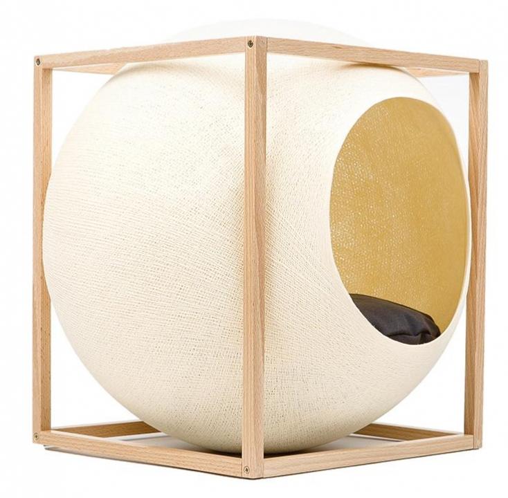 Le Cube Champagne Wood - Meyou Paris