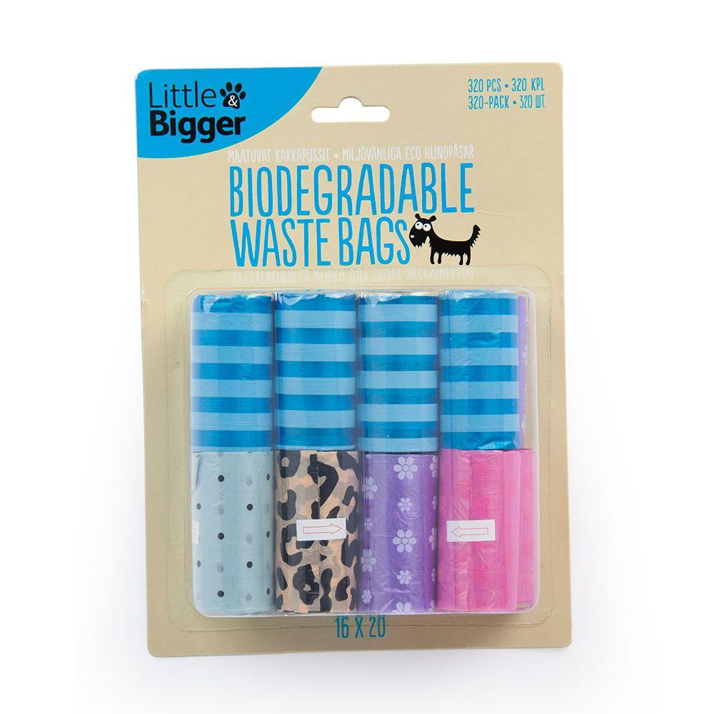 Little&Bigger Ecohundpåsar Storpack