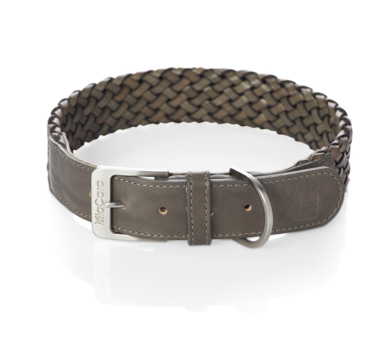 Miacara Venezia Braided Collar - Taupe