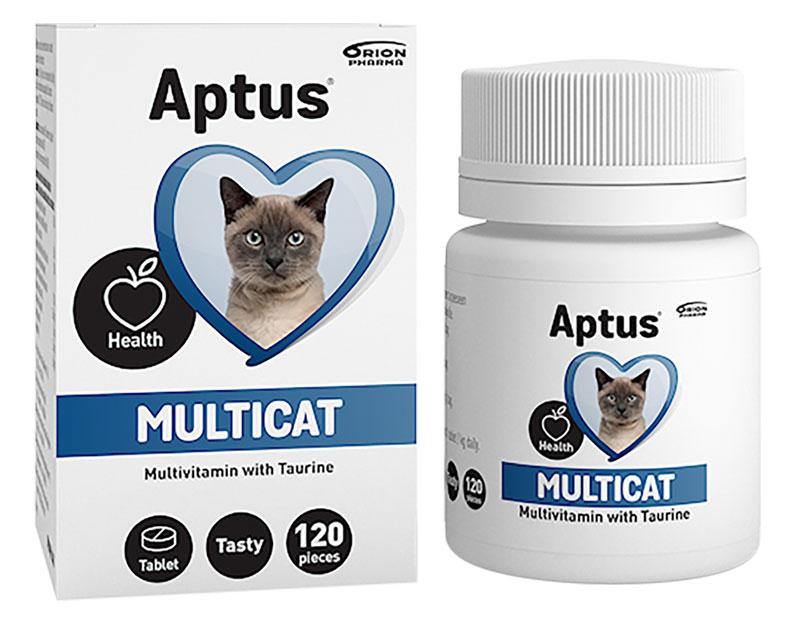 Multicat Vitamintabletter Aptus